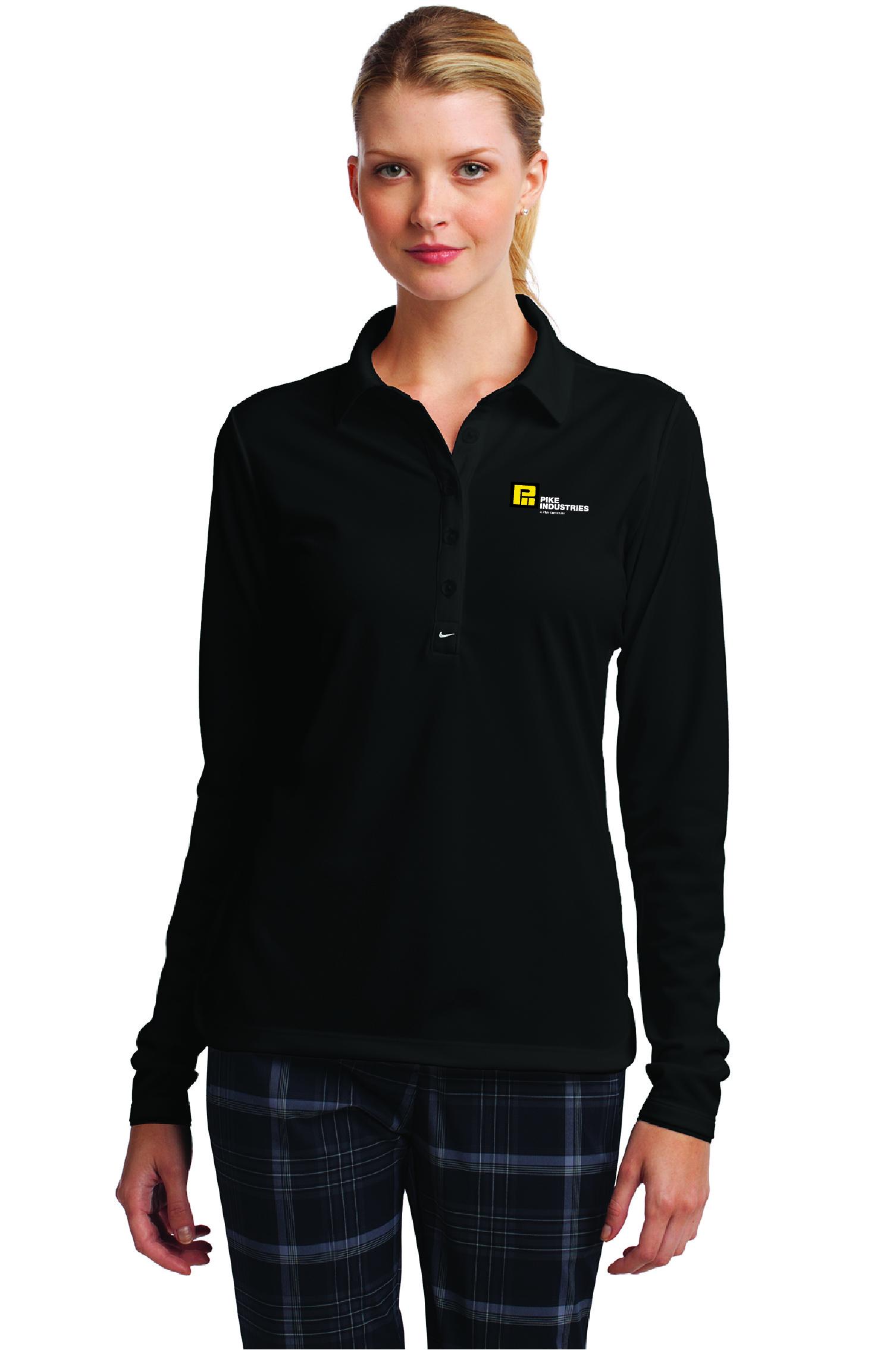 48c3594c0535 Nike Ladies Long Sleeve Dri-FIT Stretch Tech Polo – tandtpromotions.net